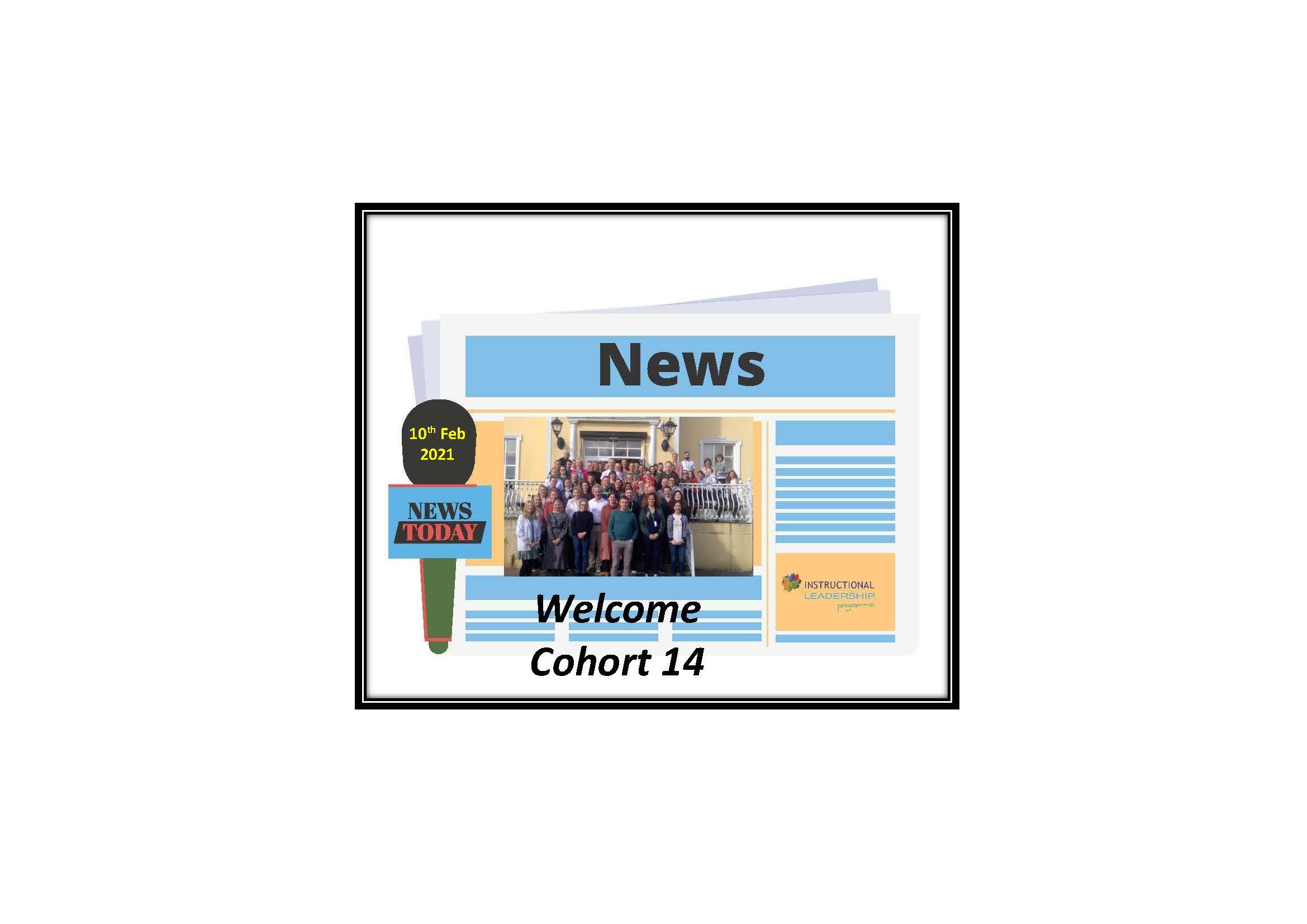 Welcome Cohort 14