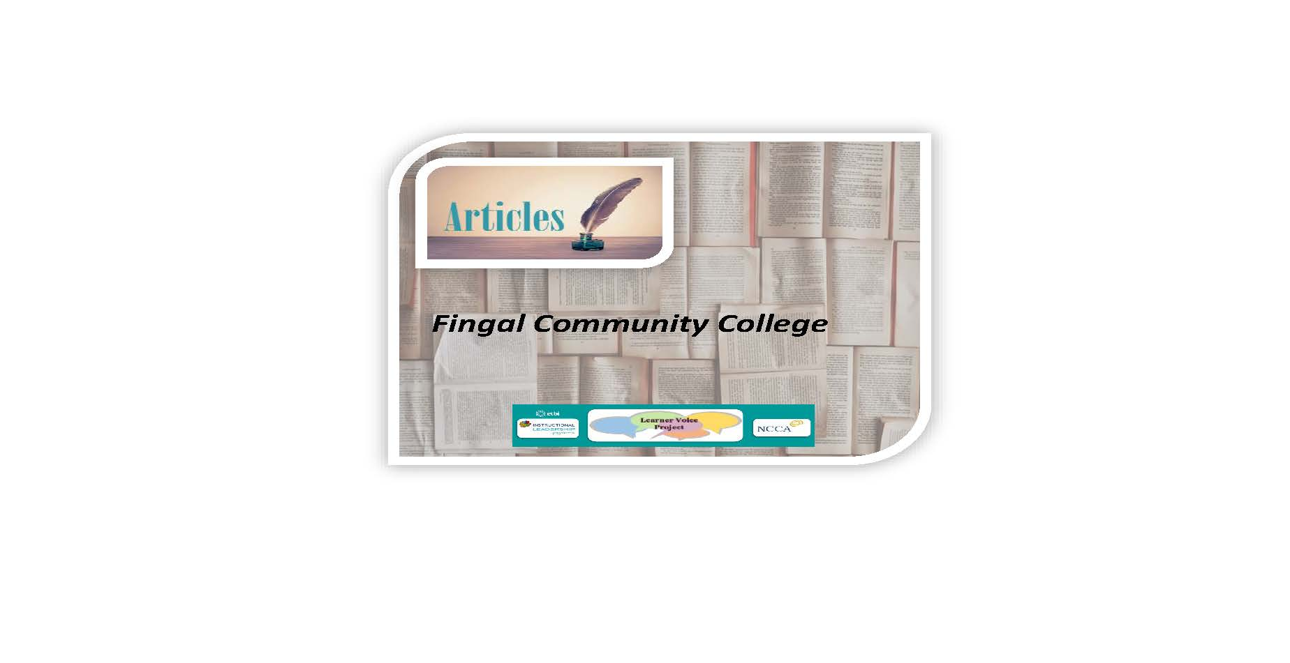 Learner Voice Articles – Fingal Community College