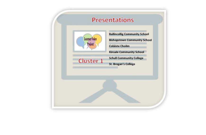 Cluster 1 Presentations