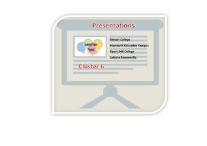 Cluster 6 Presentations