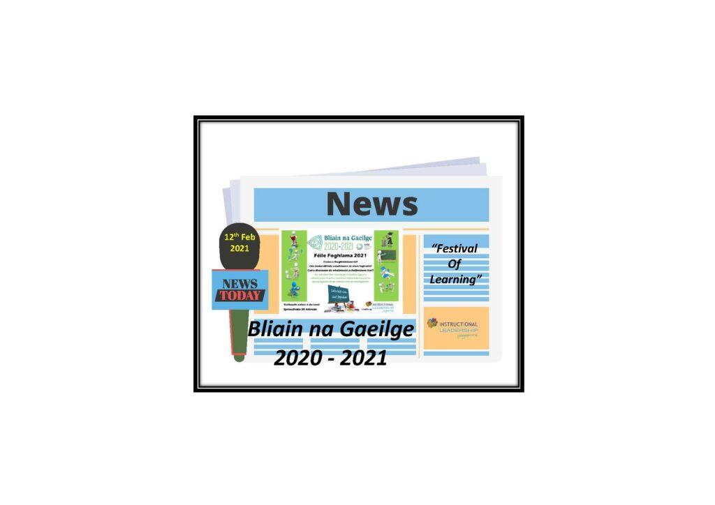 Bliain na Gaeilge 2020 – 2021